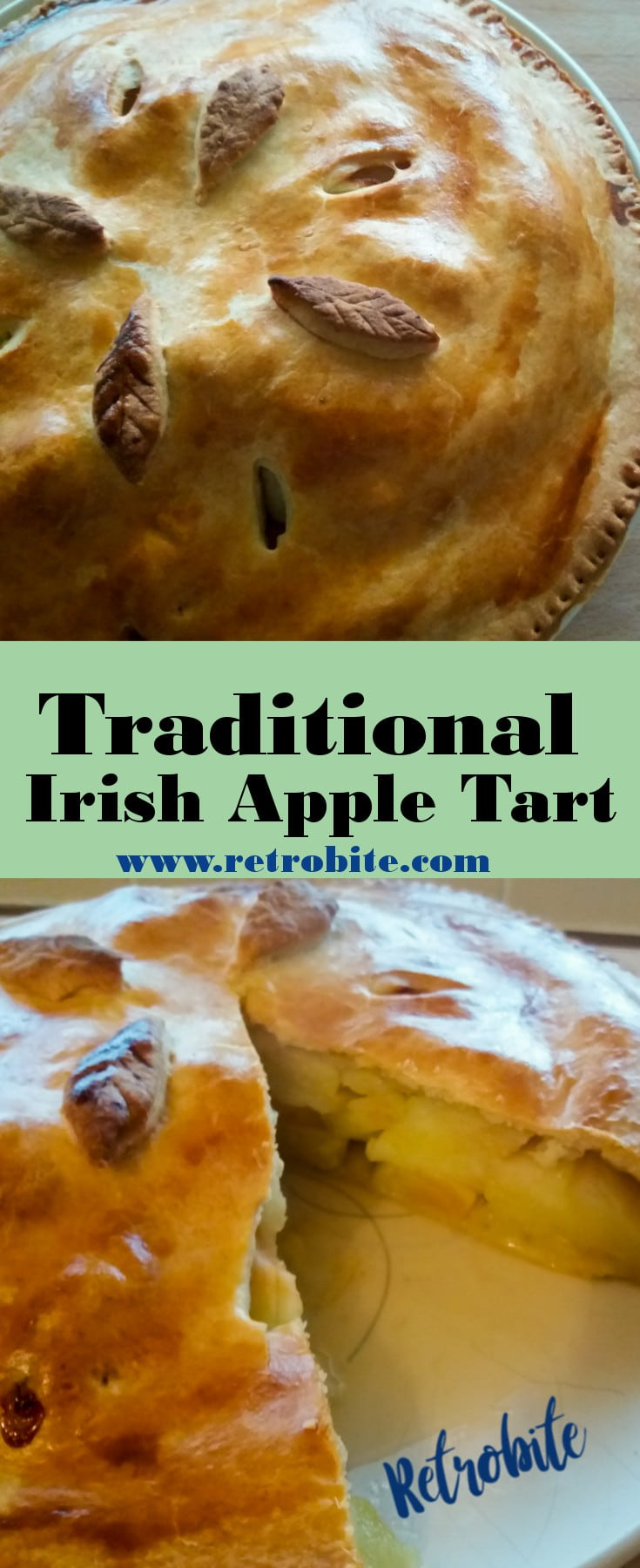 Tradtional Irish Apple Tart Recipe
