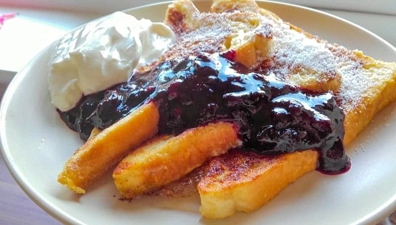 Quick and Easy French Toast Recipe For One