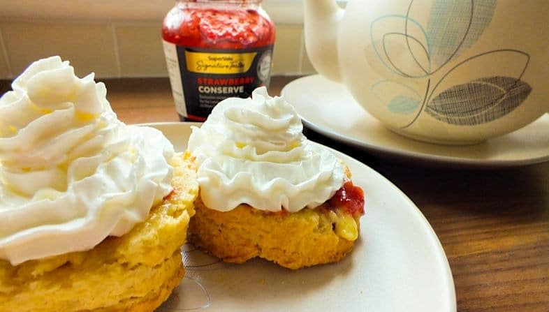 Irish Buttermilk Scones Recipe